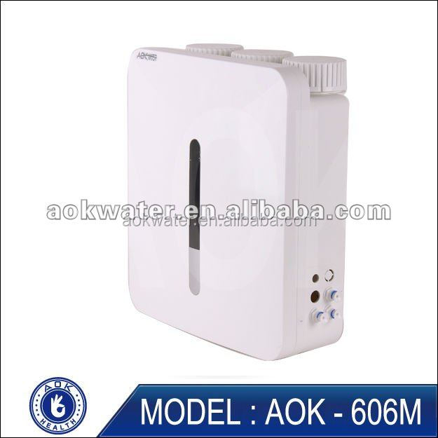 AOK alkaline water devices with five stage mineral filtration