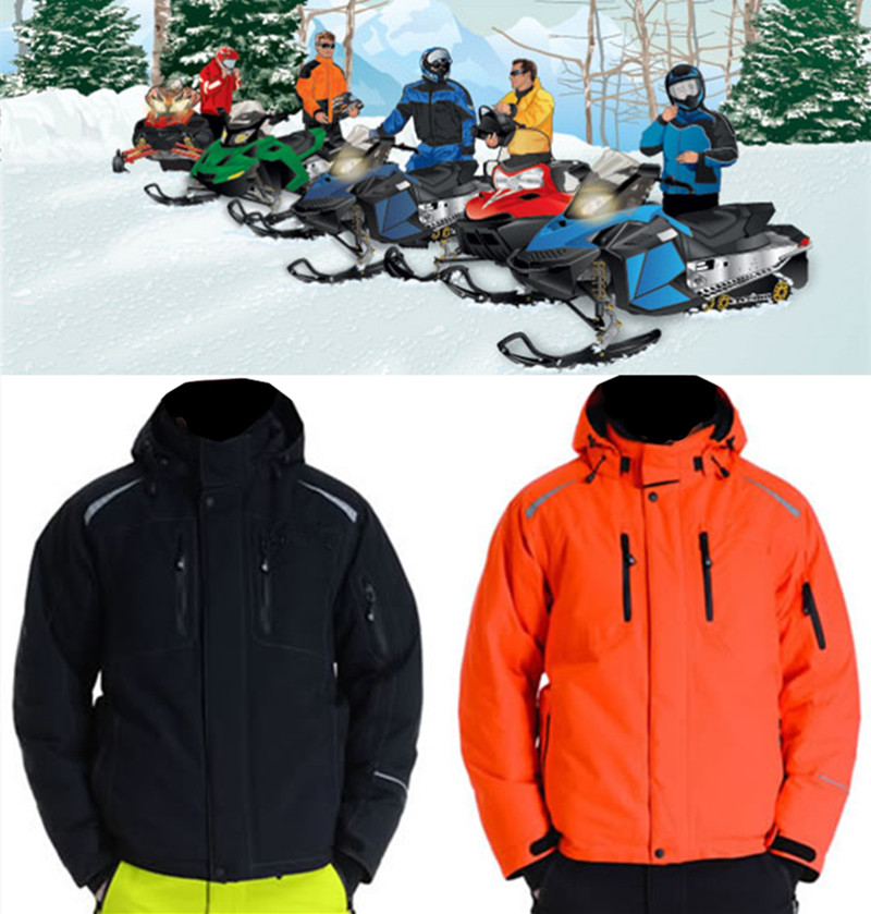 Wholesale cordura ATV motorcycle racing snowmobile jacket garments