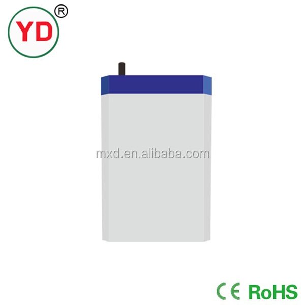 High Quality 4v 2ah rechargeable valve regulated sealed lead acid battery