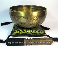 Lumbini Hand Made Carving Bowl
