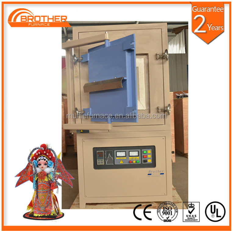 Ceramic material sintering 1700C atmosphere/gas heating treatment electric muffle furnace /electrical lab equipment manufacturer