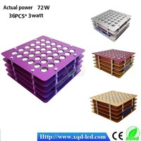 Factory Price Low Cost led 72w Plant Grow Light with High Power 3w Led lights Diode Distributors Wanted grow lighting