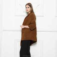 spring&winter ladies design comfortable woolen able knitted hand made women cardigan sweater