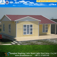 low cost cottage house/ cheap prefabricated house/ modular home kit prefab house