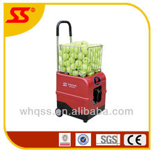 SIBOASI Portable Mini tennis ball feeder machine with free remote control and battery SS-V8-8, tennis cannons