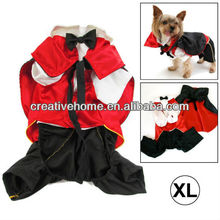 Stylish Vampire Style Dog Coat Autumn / Winter Clothes with Cloak