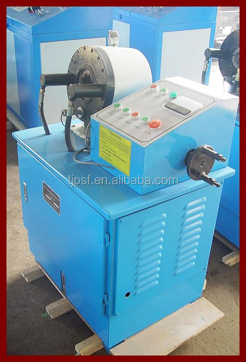 CE Certified PSF-51B 6-51mm/(1/4''-2'') hose ferrule crimping machine