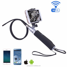 Handheld Inspection Camera HD WIFI Endoscope 6 LED Lights Tube for iOS Android