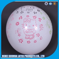 customized logo printing decoration fire balloon