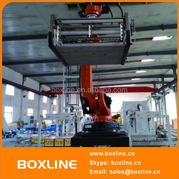 Automation stacking gripper robot, pallet stacking robots