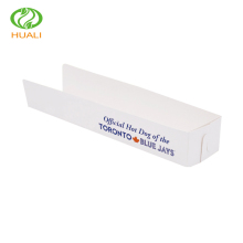 Promotional disposable food tray paper hot dog box