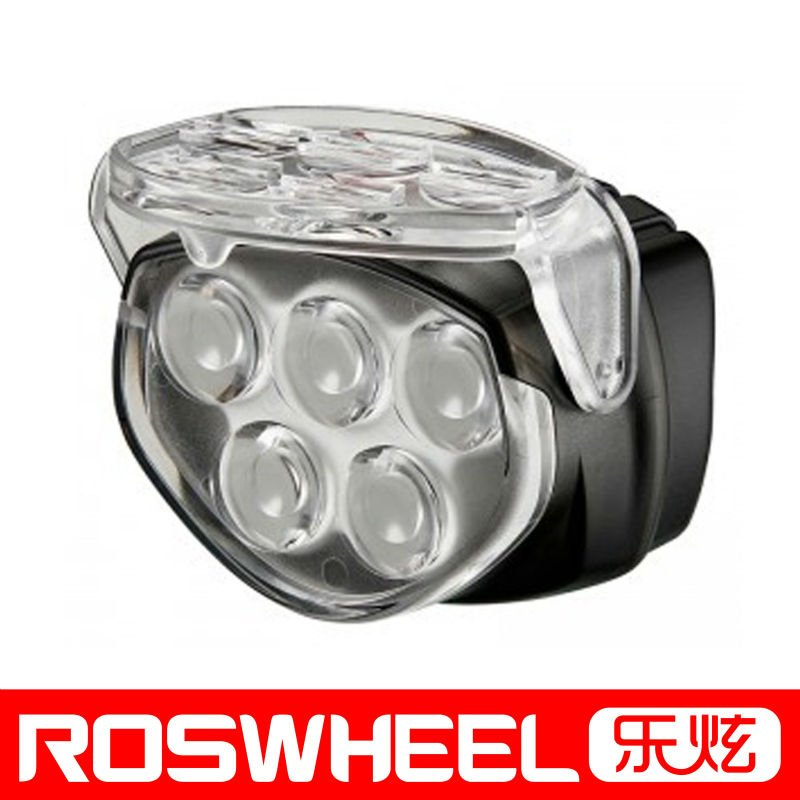 5 LED bicycle front light