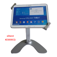 Tablet secure rotation stand
