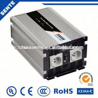 High frequency 24vdc to 220vac variable frequency inverter 50hz / 60hz to 400hz with pure sine wave