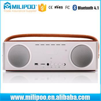 High Quality 20Watt Speaker Box Outdoor Bluetooth Subwoofer Speaker Built-in 3600mAh Rechargeable Battery