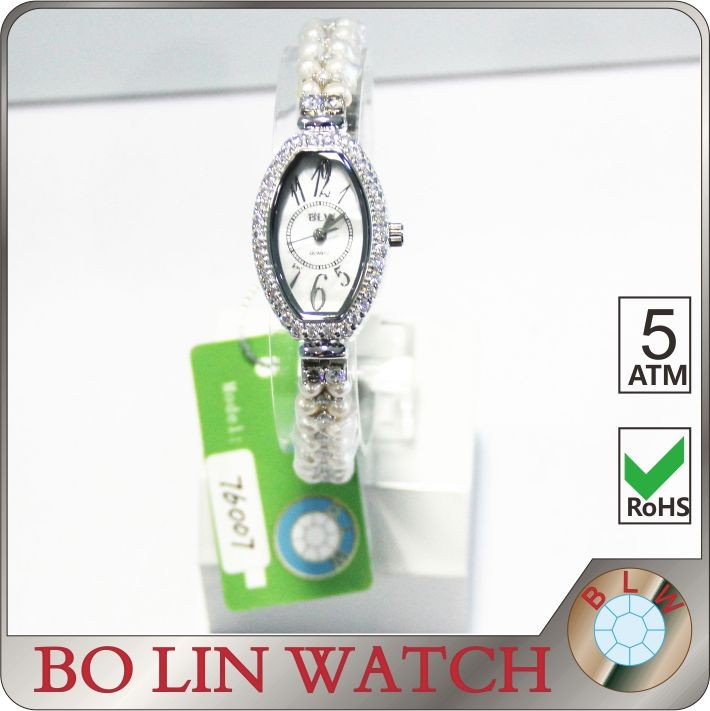 Perfect Gift! Hermosa Sterling Silver AAA Gemstone Jewelry Wrist Watch