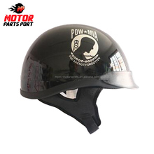 Custom abs vintage open face motorcycle helmet with DOT