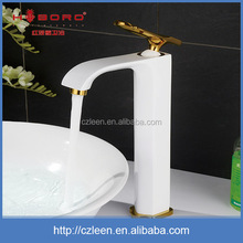 Fashion design bathroom single hole brass various types of faucets