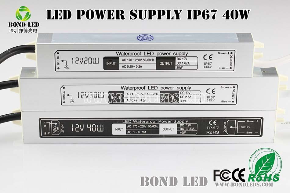 AC/ DC 100-240v input 60w 12v switching mode power supply for led light