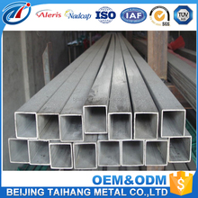 Hot rolled /cold rolled hollow mild steel galvanized 50mm aluminum square tube 18x18