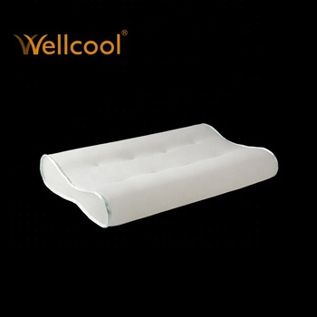 wellcool washable ps shape air mesh fabric contour pillow