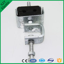 high quality opgw pole down lead clamp pole used down lead clamp