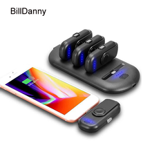 New 2019 Universal Magnetic Wireless Charger Finger Power Bank KeyChain For Iphone