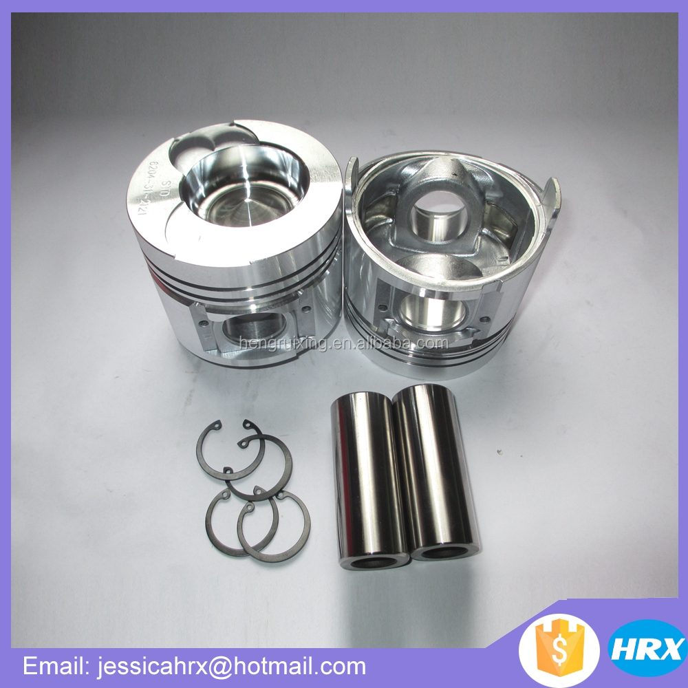 for Komatsu engine parts 4D95 Piston & Pin & Snap Ring 6204-31-2111 6204-39-2121 6204-38-2121
