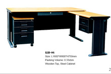 KD Steel office furniture laptop computer table models with prices with drawers