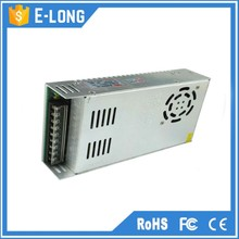 Silver White aluminum material 12v 33a switching power supply for led light