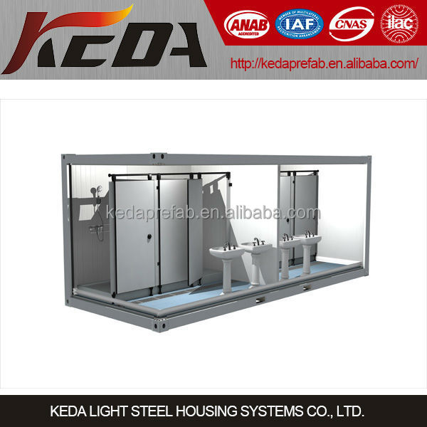20ft Mobile Container Toilet / Bathroom / Ablution / Shower Room