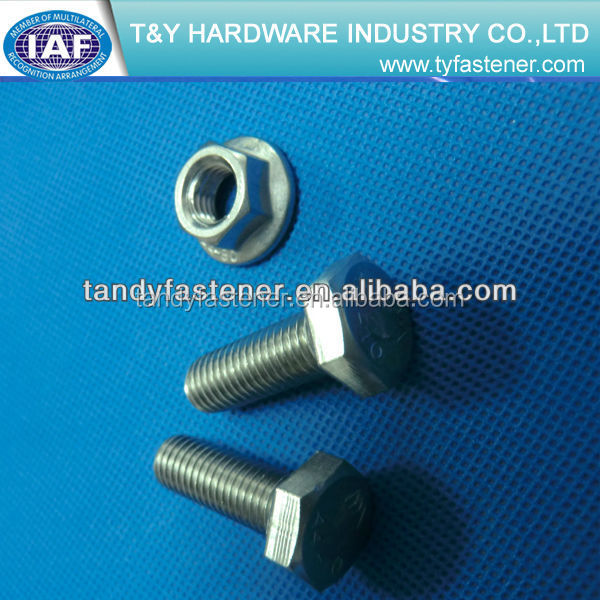 Wholesale Types Of Astm A325 Stainless Steel Hex Bolts