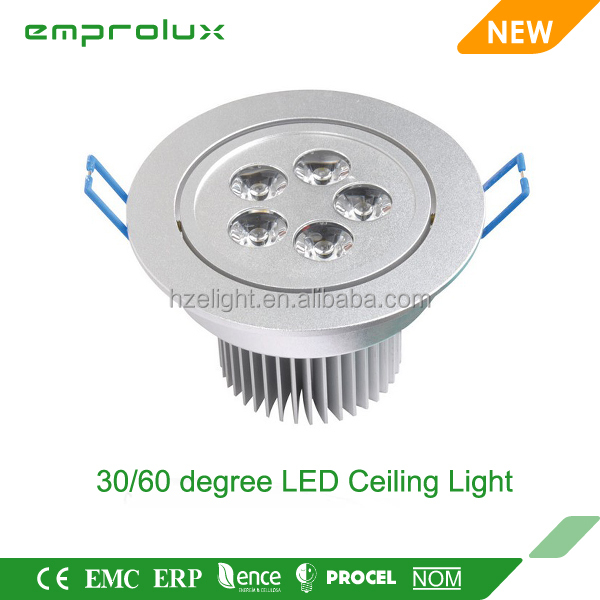 ce rohs factory 2014 led 30 60 degree movable ceiling light fixture