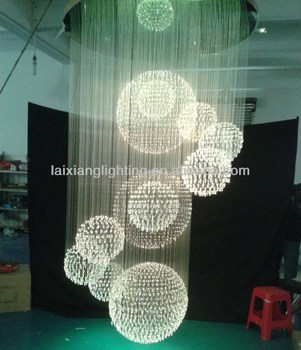 Canton fair wholesale led crystal chandelier made in China for wedding centerpiece