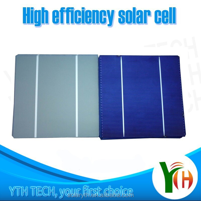 Cheap price high efficiency monocrystaline types of solar cell price for solar panels/pv solar cells for sale
