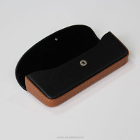 magnetic leather eyeglass case cheap glasses box custom