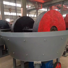 High efficiency used gold wet pan mills for gold processing