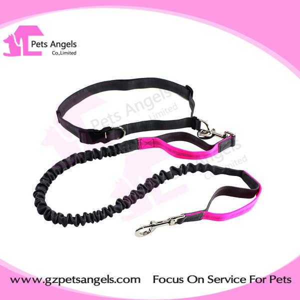 Premium Lightweight Reflective Hands Free Dog Leash running jogging Pets bungee Leash