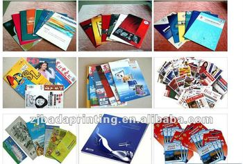 Colorful catalogue design & printing high quality