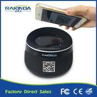 Online shopping Desktop barcode scanner USB RS232 Interface for Mobile Phone Payment
