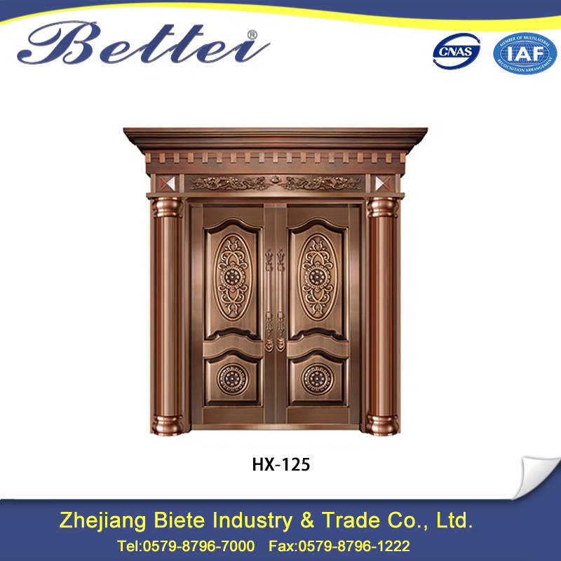 China best sale copper double door