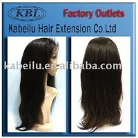 KBL brazilian hair wig black hair bun synthetic wig