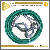 Hot sale Plastic coated steel dog tie out cable wire rope