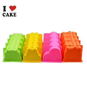 Kitchen Baking Easy Clean Custom-Made Cartoon Toast Silicon Cake Mold