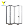 Australian standards double glazing lowes bi fold door/Accordion aluminum glass patio exterior bifold doors /bi-fold door