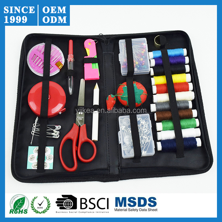 Most Popular in Amazon Sewing Kit Set Threader Needle Hand Tape Scissor Thimble