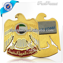 Self-Adhesive UAE Eagle Flag Badge/Lapel Pin for National Day Souvenir