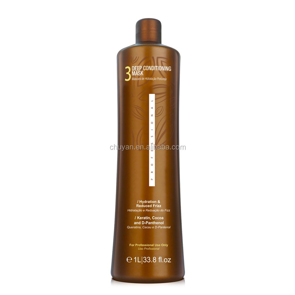 Brazilian Keratin Hair Treatment private label Hair Straighten cream High Quality