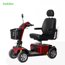 4 Wheel Heavy Duty Electric Mobility Scooter For Handicapped And Disabled Old Man