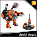 183 PCS wholesale creative toy for kids DIY robot model bricks toy
